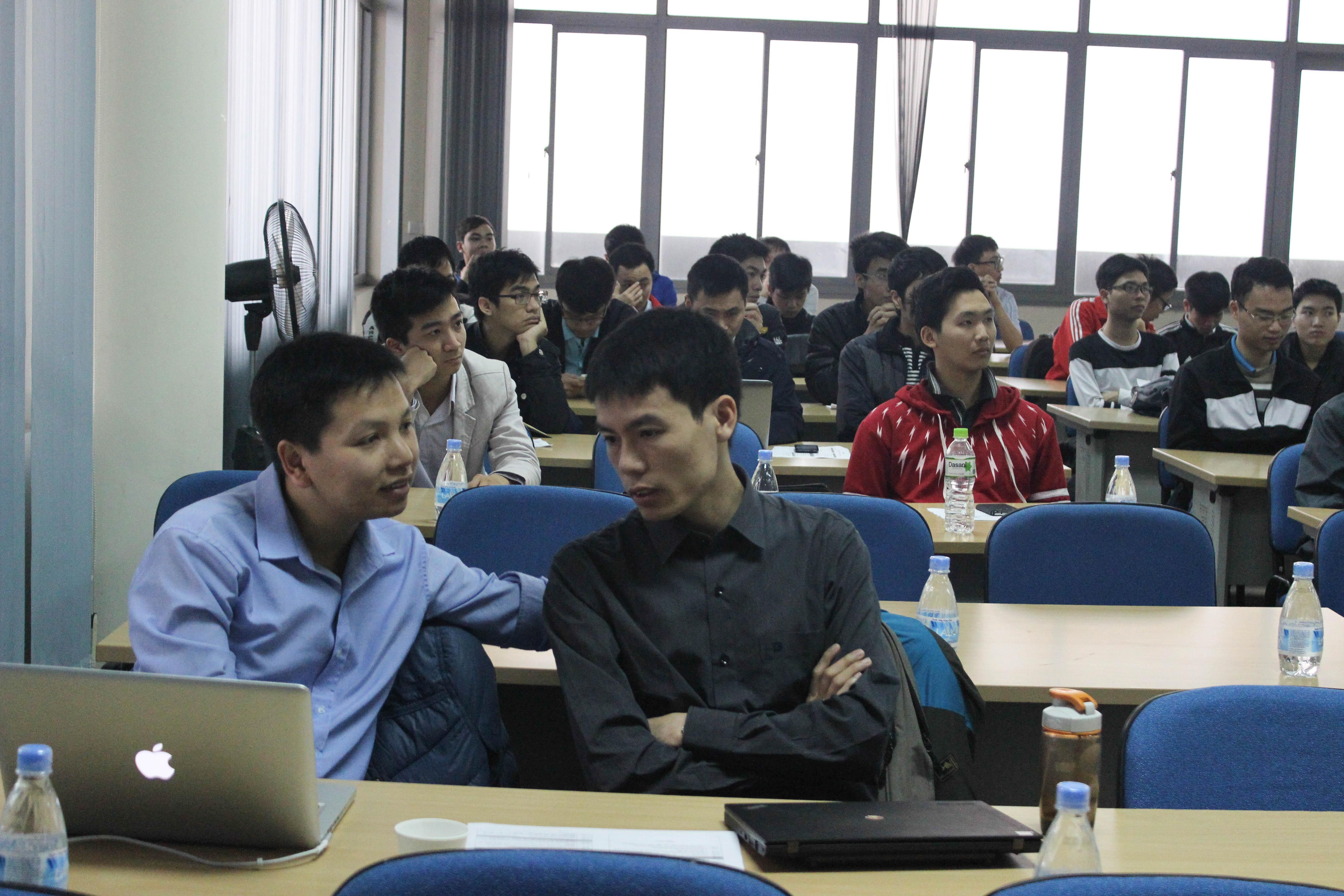 In a talk